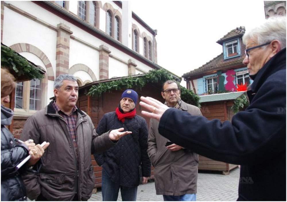 La venue de cette délégation turque s'est faite grâce au nouveau réseau de professionnels Alsace Welcome. PHOTO DNA