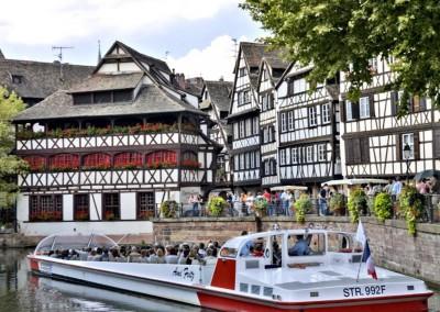 Bateau-mouche à Strasbourg