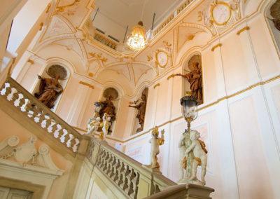 Ludwigsburg - Intérieur du Palais Royal