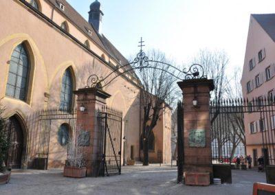 Temple Saint Matthieu à Colmar