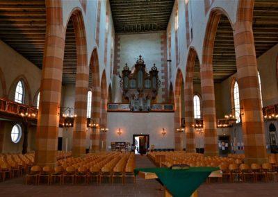 Intérieur du Temple Saint Matthieu à Colmar