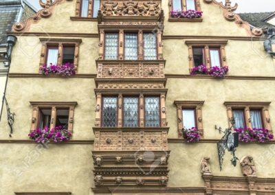Maison des Têtes Médiévales à Colmar