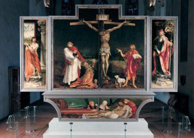 Retable d'Issenheim au Musée d'Unterlinden - Colmar