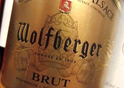 Cremant d'Alsace brut Wolfberger
