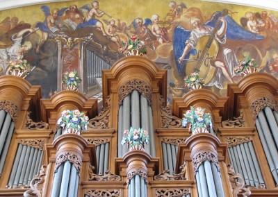 Orgue de l'abbaye d'Ebermunster