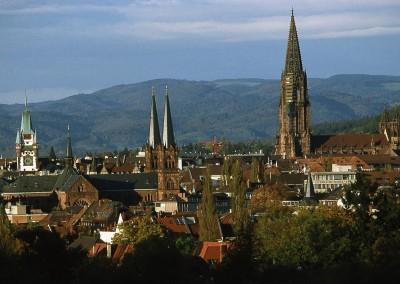 Fribourg - Vue d'ensemble