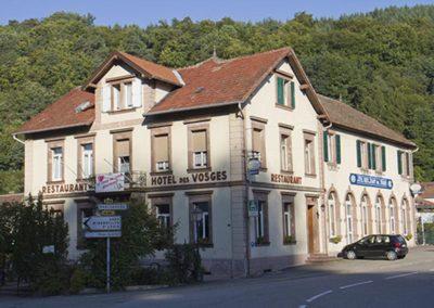 Hôtel restaurant des Vosges à Lutzelhouse