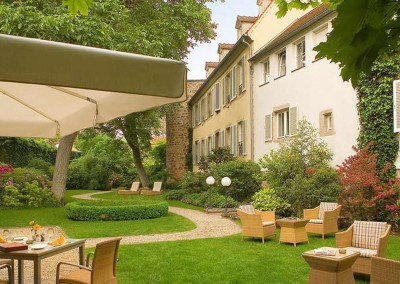 Jardins - Cour d'Alsace - Obernai