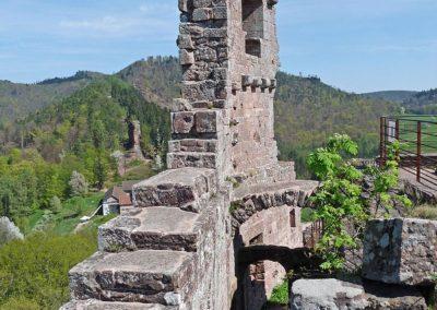 Château du Fleckenstein ancien logis des Seigneurs