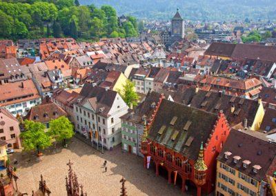 Fribourg - Münsterplatz