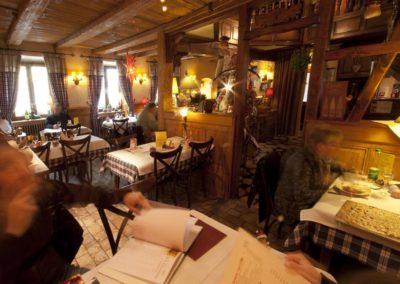 Restaurant la Couronne à Scherwiller - salle principale