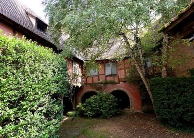 Ancienne Cour domaniale d'Unterlinden 16 au 18è siècle - Eguisheim