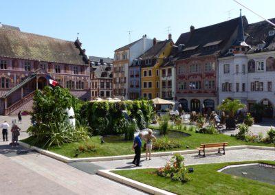 Mulhouse - place de la Réunion