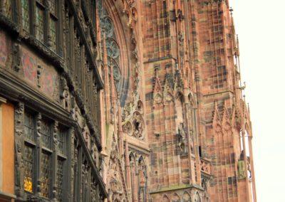Strasbourg - Kammerzell et la cathédrale