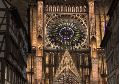 Eclairage de la Cathédrale Strasbourg