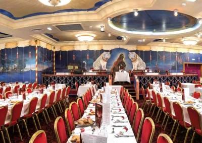 Le restaurant Majestic du Royal Palace à Kirrwiller