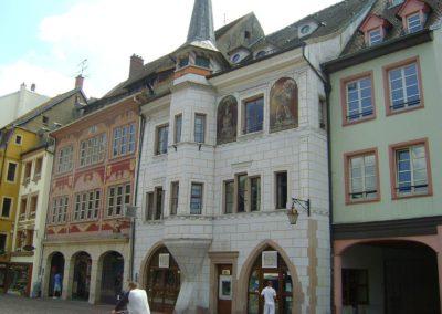 Mulhouse - Ancienne maison Mieg - Place de la réunion