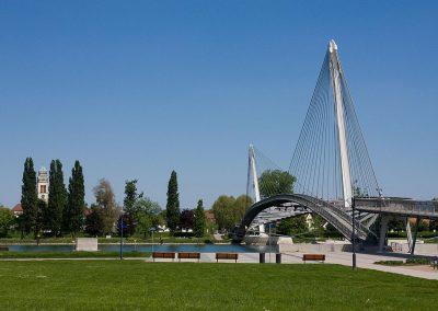 Strasbourg - Passerelle Mimram - Pont des deux Rives