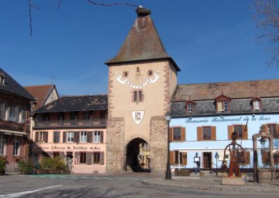 Porte d'entrée - Turkheim