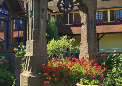 Puits du 16ème siècle à Bennwihr
