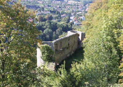 Ruines du château de Ferrette