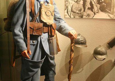 Combattant Français au Musée du Linge