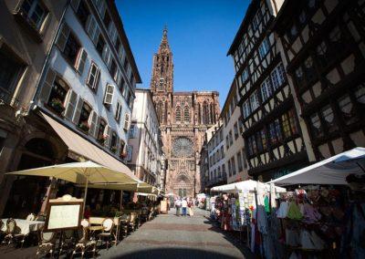 Strasbourg - rue Mercière - Cathédrale