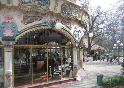 Colmar - Place Rapp - Carroussel