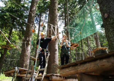 Parcours d'agilité - Kletterwald
