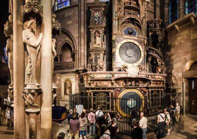 Strasbourg - Cathédrale - L'horloge Astronomique