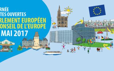 Journée Portes Ouvertes au Parlement Européen & Conseil de l'Europe