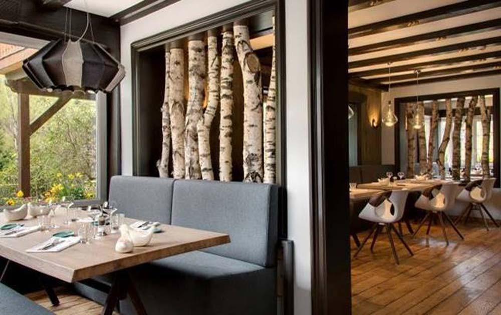 La Cheneaudière, Relais & Châteaux situé entre Strasbourg et Colmar, présente son restaurant entièrement repensé suite à une nouvelle série de travaux dans l'objectif de rafraîchir et embellir.
