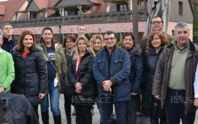 Une délégation turque aux Violettes